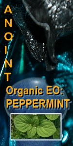 Ormus Minerals --Organic Peppermint Anointing Oil