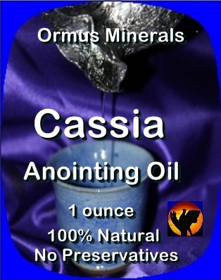 Ormus Minerals -CASSIA ANOINTING OIL
