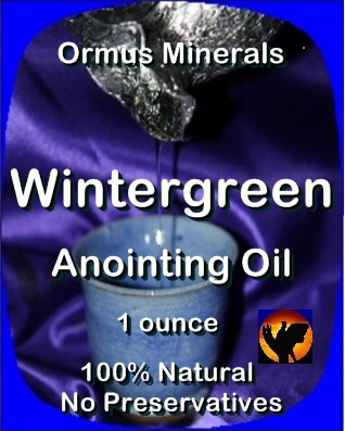 Ormus Minerals -Anointing Oil with Wintergreen