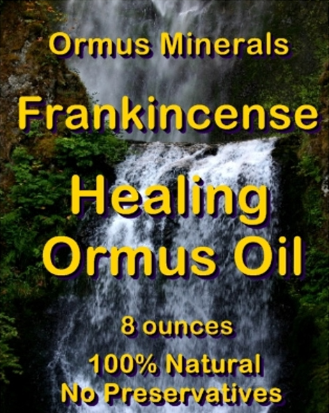 Ormus Minerals -FRANKINCENSE Healing Ormus Oil