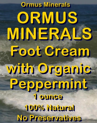 Ormus Minerals -Ormus Minerals Food Cream with Organic PEPPERMINT