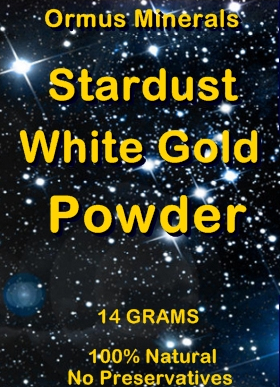 Ormus Minerals -Stardust White Gold Powder