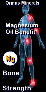 Ormus Minerals --Pure Magnesium Oil with Ormus for bone strength